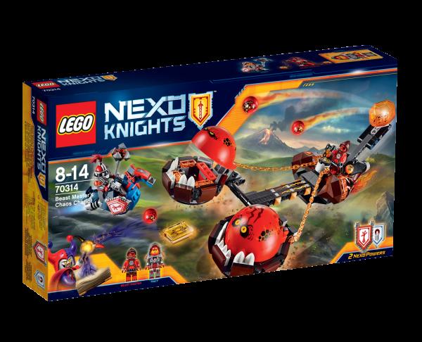LEGO® Nexo Knights 70314 Chaos-Kutsche des Monster-Meisters