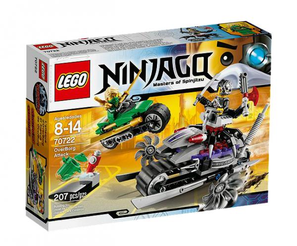 LEGO® Ninjago 70722 OverBorg Attacke