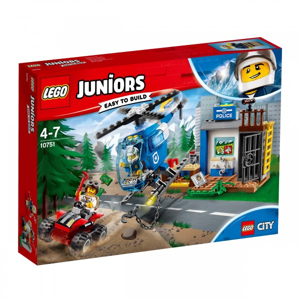 LEGO® Juniors 10751 Gebirgspolizei auf Verfolgungsjagd