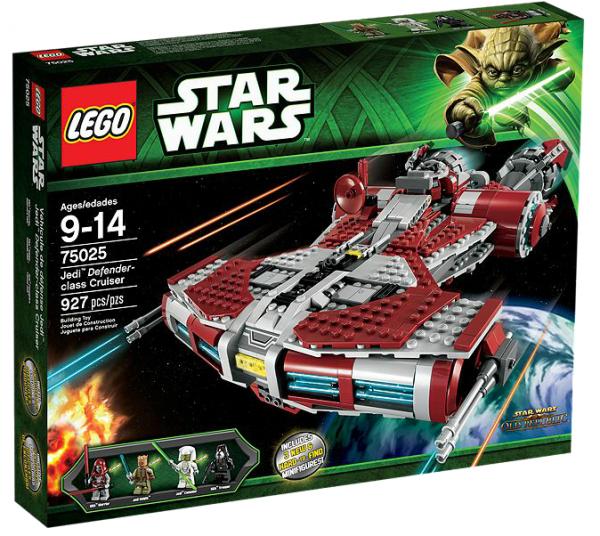 LEGO® Starwars 75025 Jedi Defender-class Cruiser