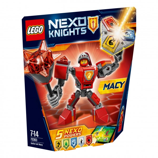 LEGO® Nexo Knights 70363 Action Macy