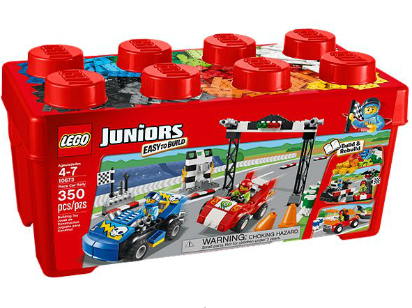 LEGO® Juniors 10673 Große Steinebox Ralley