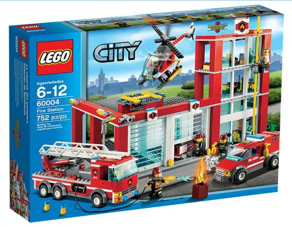 LEGO® CITY 60004 Feuerwehr-Hauptquartier
