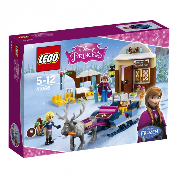 LEGO® Disney Princess 41066 Annas und Kristoffs Schlittenabenteuer