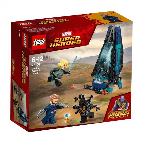 LEGO® Marvel Super Heroes 76101 Outrider Dropship-Attacke