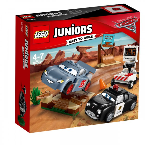 LEGO® Juniors 10742 Rasante Trainingsrunden in der Teufelsschanze