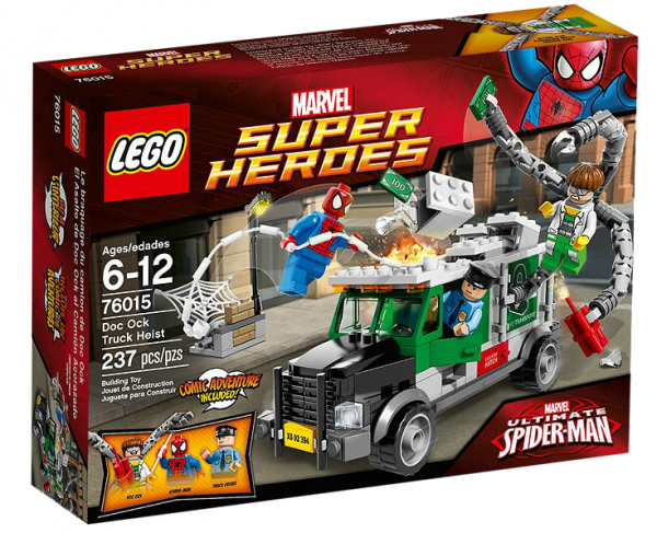 LEGO® Marvel Super Heroes 76015 Doc Ock : Überfall auf den Truck
