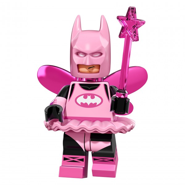 The LEGO® Batman Movie Minifigur - Fairy Batman 71017-03