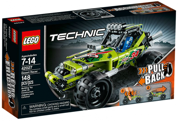 LEGO® Technic 42027 Action Wüsten-Buggy