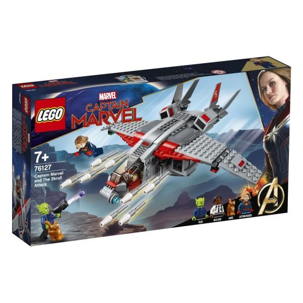 LEGO® Marvel Super Heroes 76127 Captain Marvel und die Skrull-Attacke