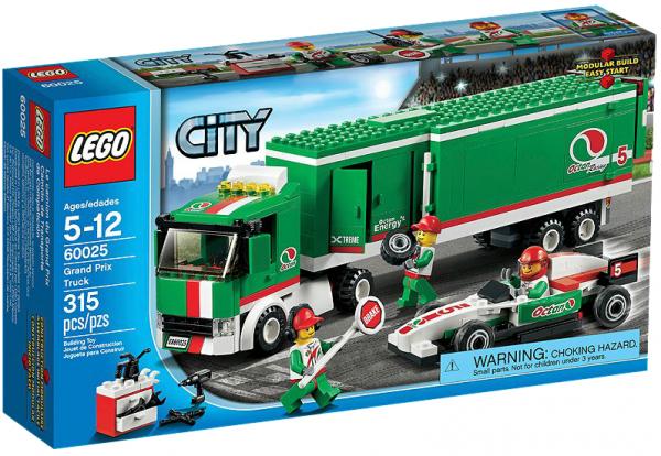 LEGO® CITY 60025 Formel1 Truck