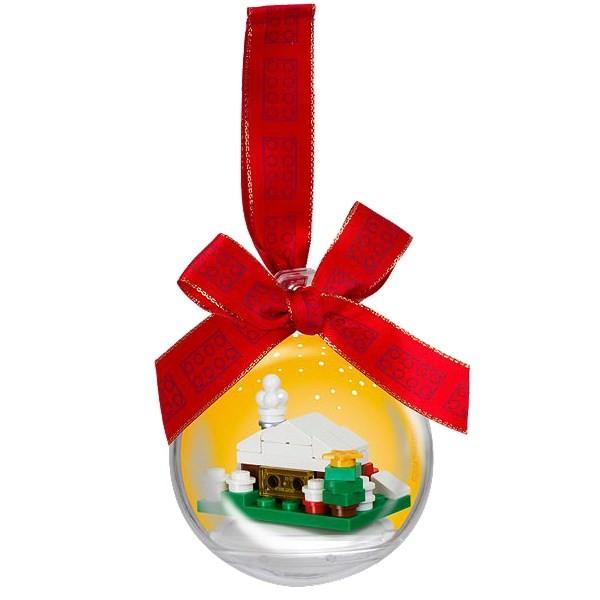 LEGO® 850949 Christbaumkugel mit verschneiter Hütte
