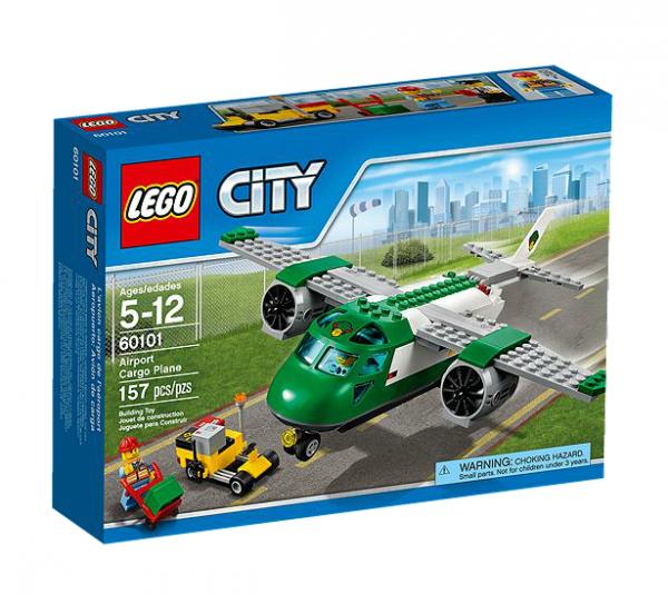 LEGO® CITY 60101 Flughafen-Frachtflugzeug