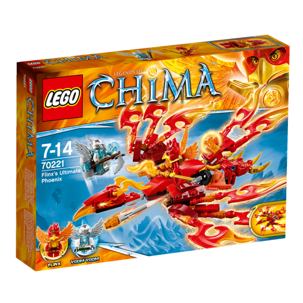 LEGO® Chima 70221 Flinx' Ultimativer Phönix