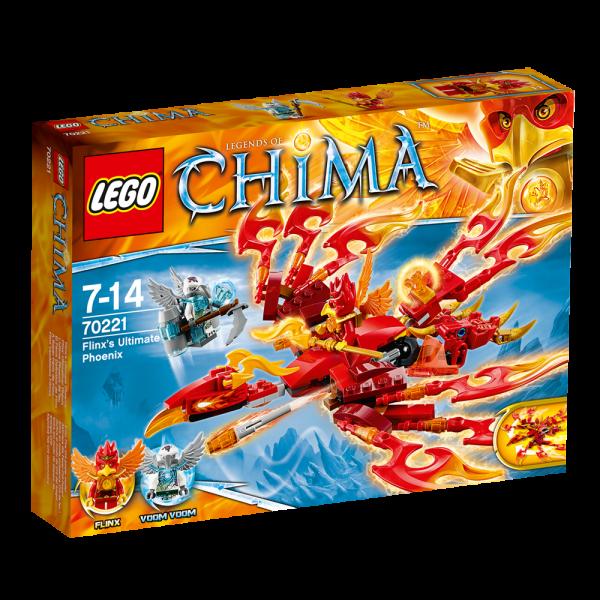 LEGO® Chima 70221 Flinx' Ultimativer Phönix