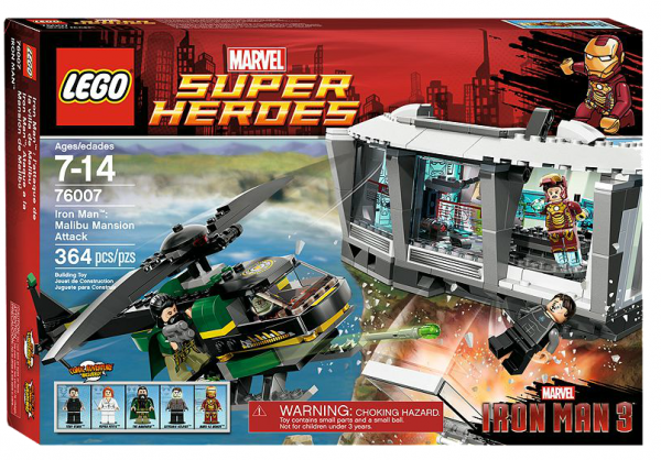 LEGO® Marvel Super Heroes 76007 Iron Man: Tumult in der Malibu-Villa