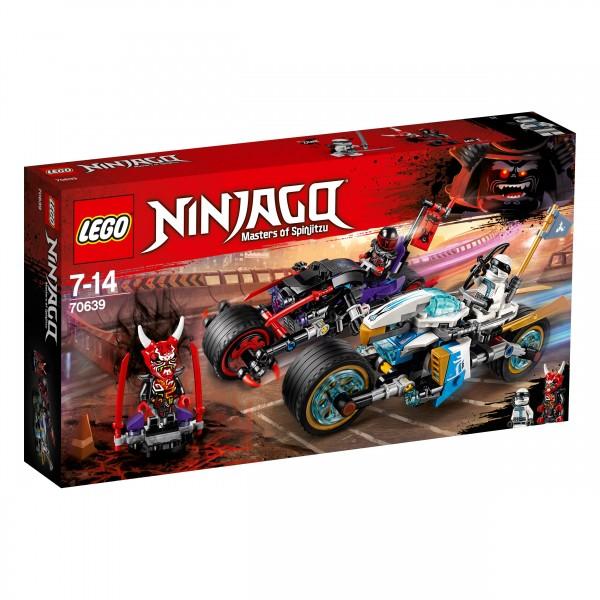 LEGO® Ninjago 70639 Straßenrennen des Schlangenjaguars