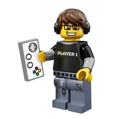 LEGO® Minifiguren Serie 12 - Video Gamer 71007-08