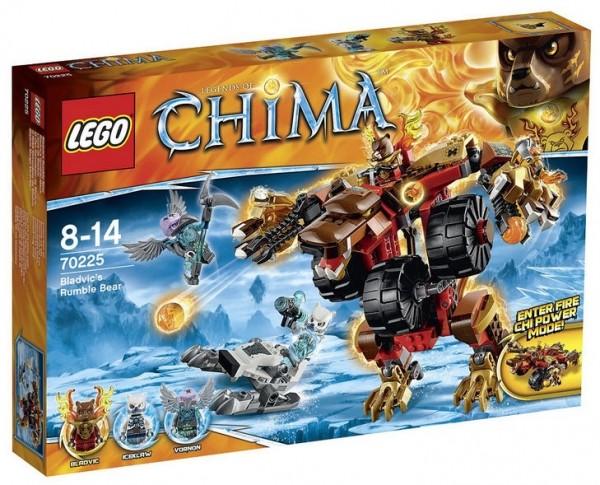 LEGO® Chima 70225 Bladvics Grollbär-Mech
