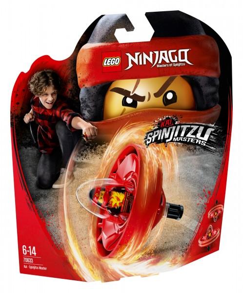 LEGO® Ninjago 70633 Spinjitzu-Meister Kai