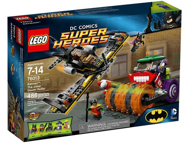 LEGO® DC Universe 76013 Batman: Jokers Dampfroller