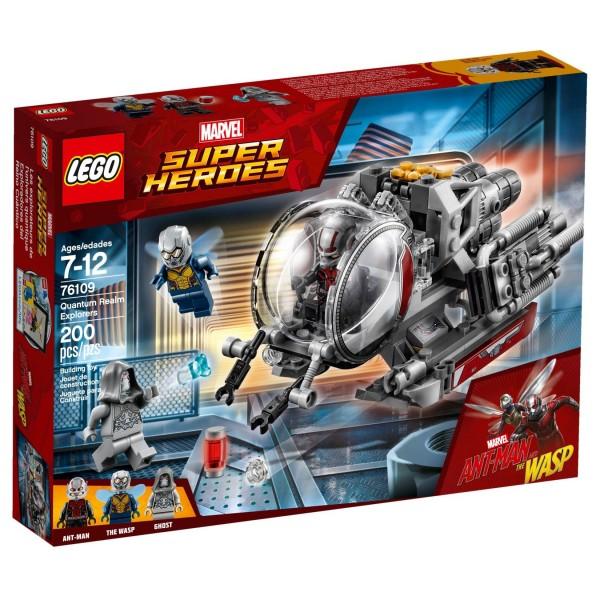 LEGO® Marvel Super Heroes 76109 Erforscher des Quantenreichs