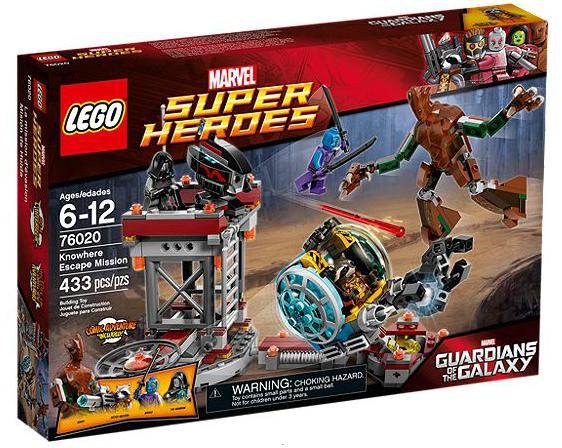 LEGO® Marvel Super Heroes 76020 Der große Ausbruch