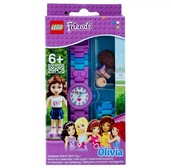LEGO® Friends 9001000 Olivia-Armbanduhr mit Spielfigur