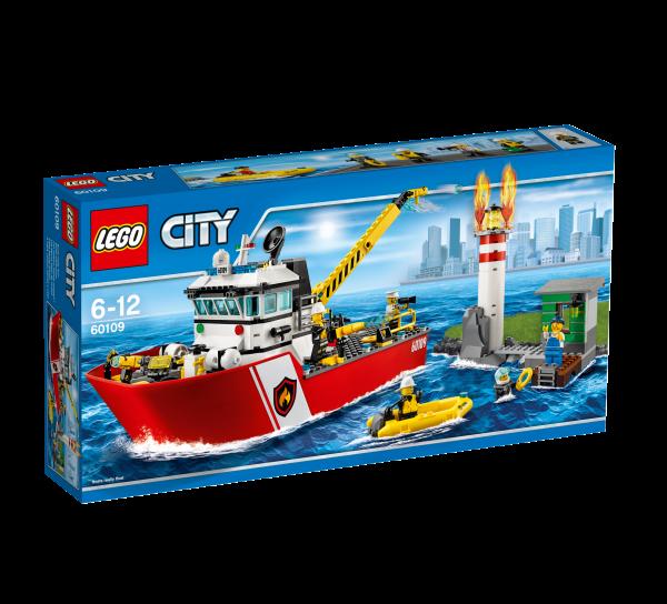 LEGO® CITY 60109 Feuerwehrschiff