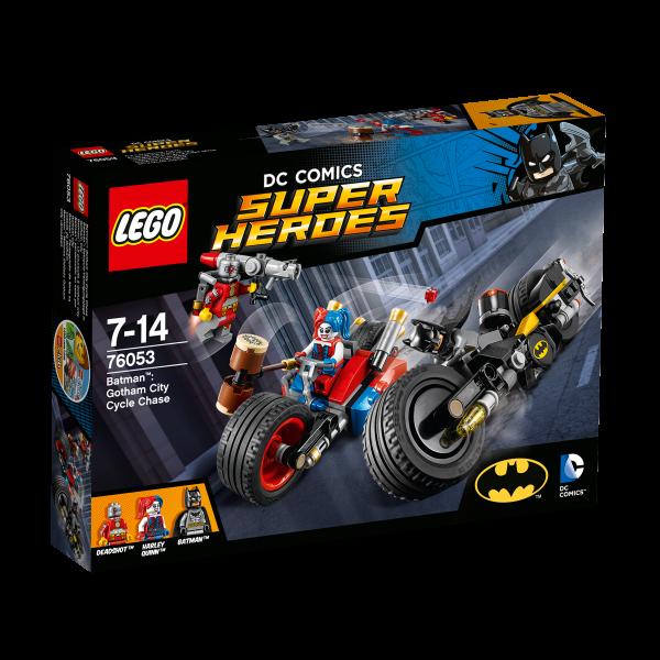 LEGO® DC Universe Super Heroes 76053 Batman: Batcycle-Verfolgungsjagd in Gotham City