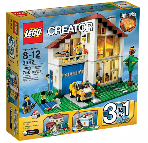 LEGO® Creator 31012 Großes Einfamilienhaus