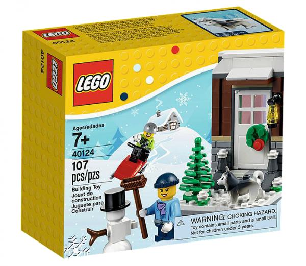 LEGO® 40124 Winterspaß