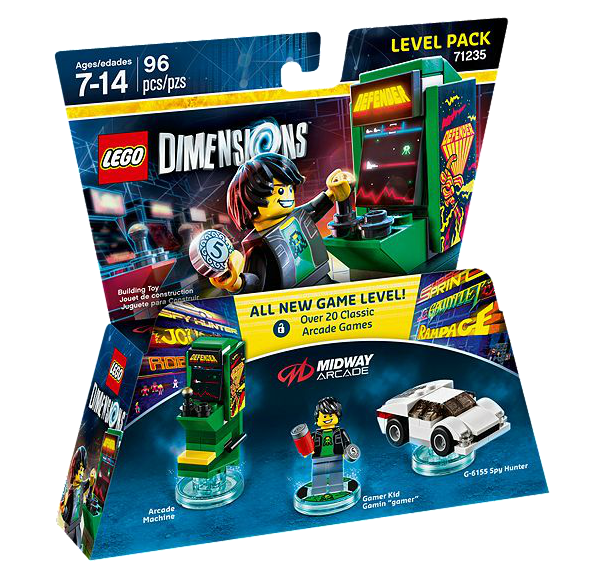 LEGO® Dimensions 71235 Level Pack Midway Arcade