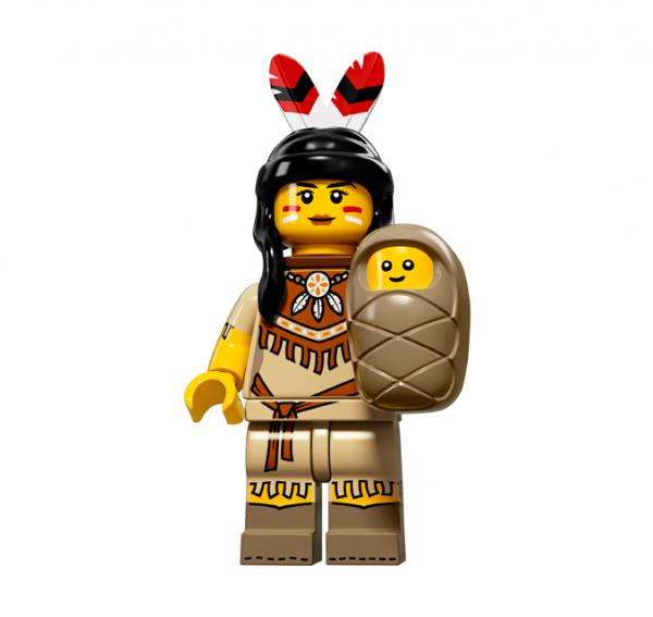 LEGO® Minifiguren Serie 15 - Indianerin 71011-05