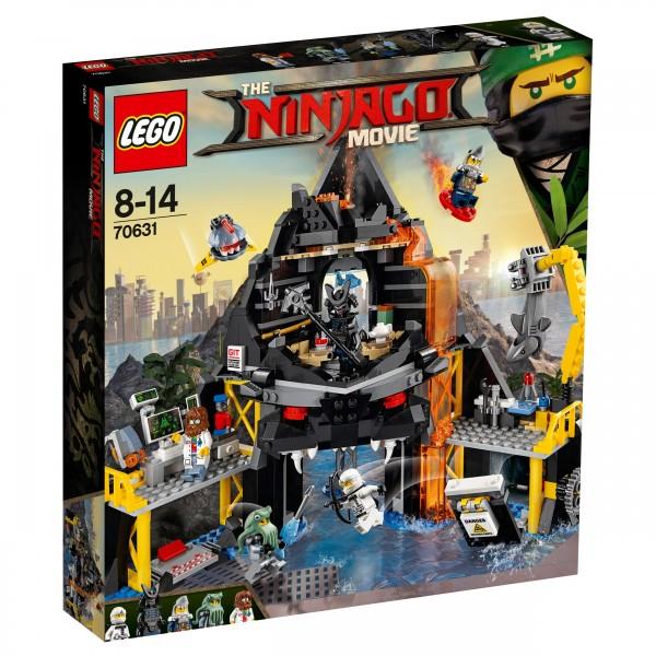LEGO® Ninjago Movie 70631 Garmadons Vulkanversteck