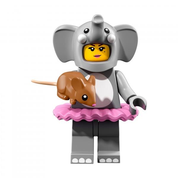 LEGO® 71021 Minifiguren Serie 18: Mädchen im Elefantenkostüm 71021-01