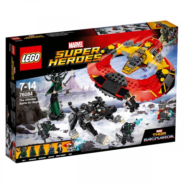 LEGO® Marvel Super Heroes 76084 Das ultimative Kräftemessen um Asgard