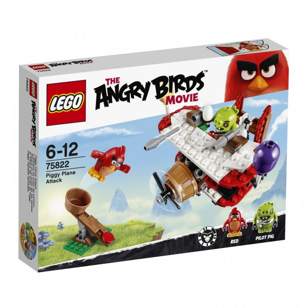 LEGO® Angry Birds 75822 Piggy Plane Attack