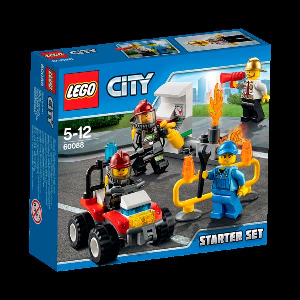 LEGO® CITY 60088 Feuerwehr Starter-Set