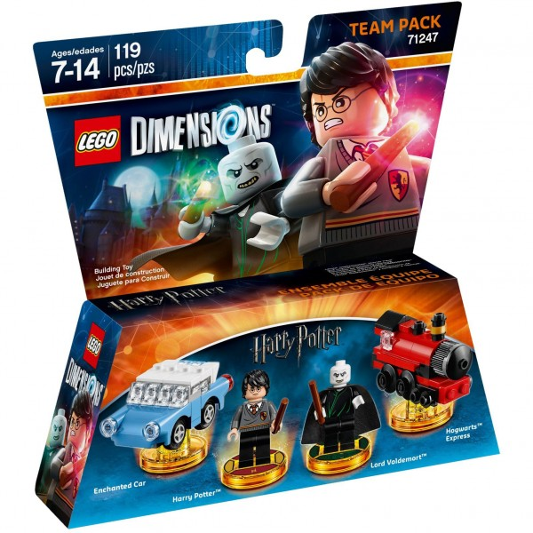 LEGO® Dimensions 71247 Team Pack Harry Potter & Lord Voldemort