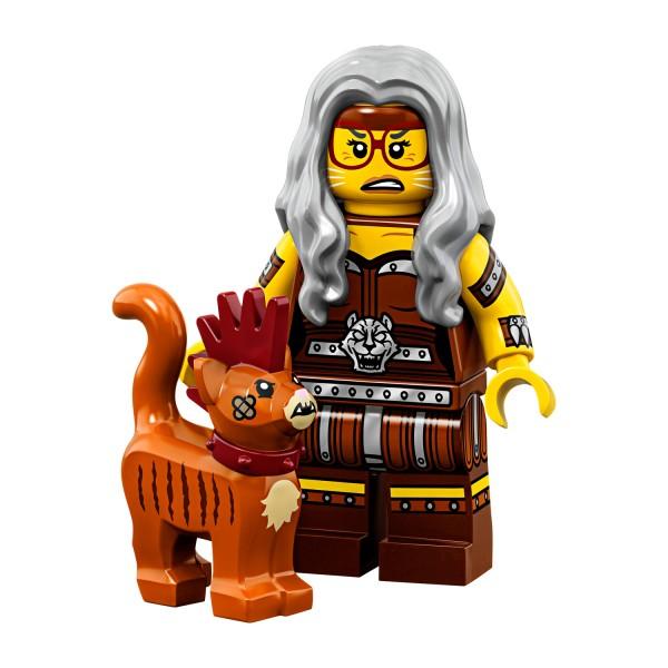 LEGO® Movie 2 Minifigur 71023-06: Sherry Scratchen-Post & Scarfield