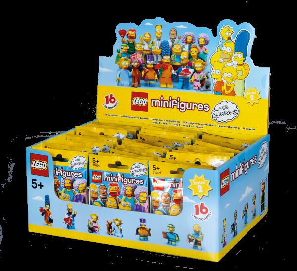 LEGO® Minifiguren The Simpsons Serie 2 - Thekendisplay