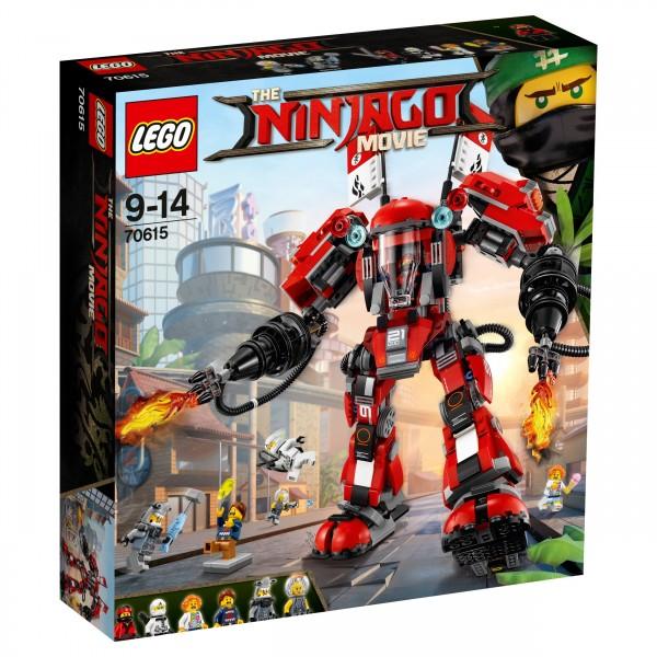 LEGO® Ninjago Movie 70615 Kai's Feuer-Mech