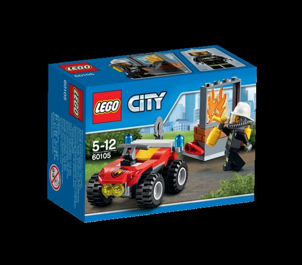 LEGO® CITY 60105 Feuerwehr-Buggy