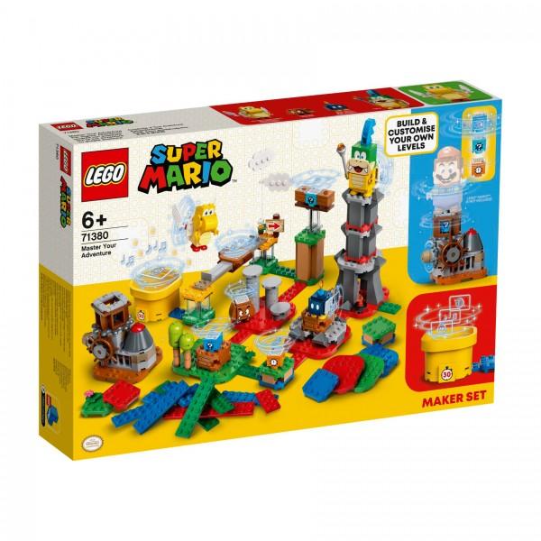 LEGO® Super Mario™ 71380 Baumeister-Set für eigene Abenteuer