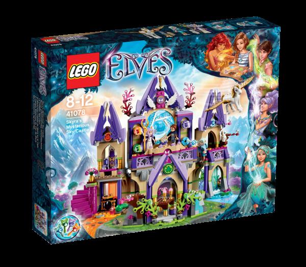 LEGO® Elves 41078 Skyras geheimnisvolles Himmelsschloss