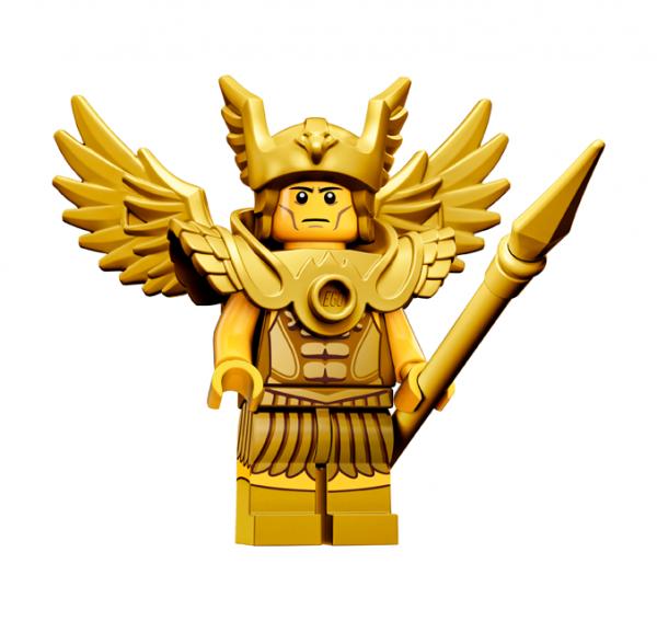 LEGO® Minifiguren Serie 15 - Geflügelter Krieger 71011-06