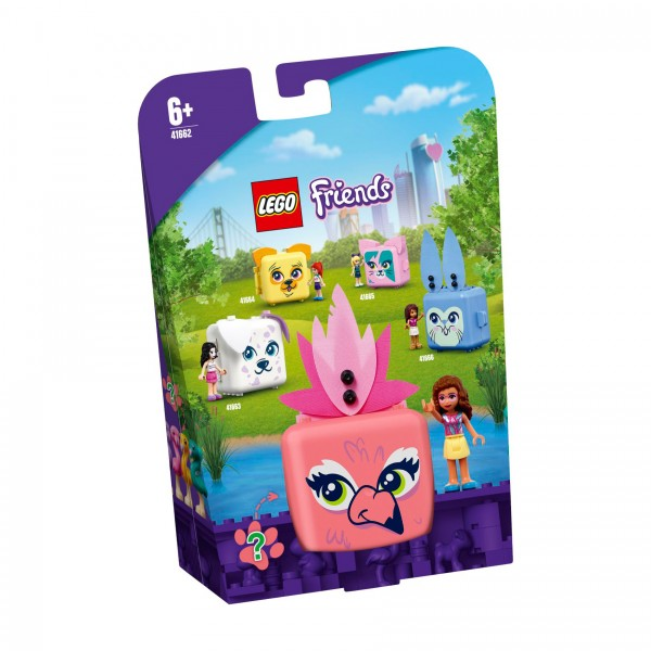 LEGO® Friends 41662 Olivias Flamingo-Würfel