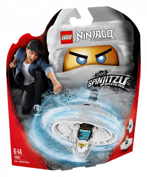LEGO® Ninjago 70636 Spinjitzu-Meister Zane