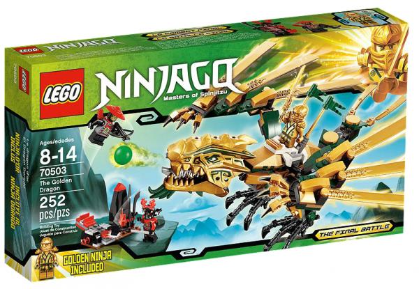 LEGO® Ninjago 70503 Goldener Drache